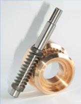 Vis-sin-fin y Coronas Módulo 1 hasta modulo 12, Ø Corona 40 hasta 500 mm